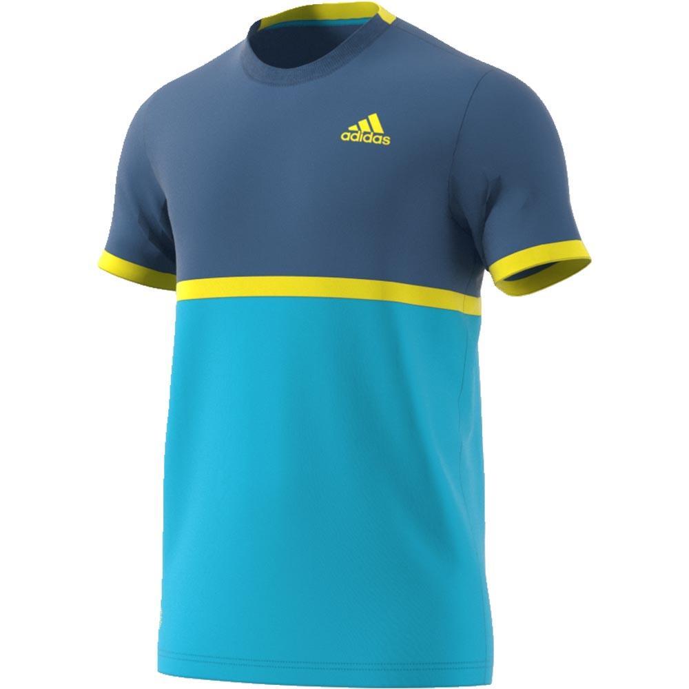 adidas Court T Shirt Niebieski kup i oferty, Smashinn Koszulki