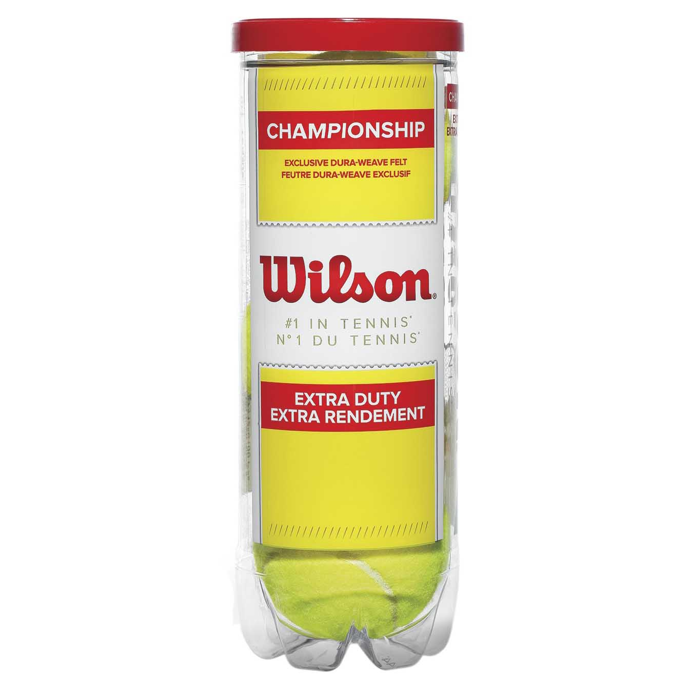 Balles tennis Wilson Champion Xd