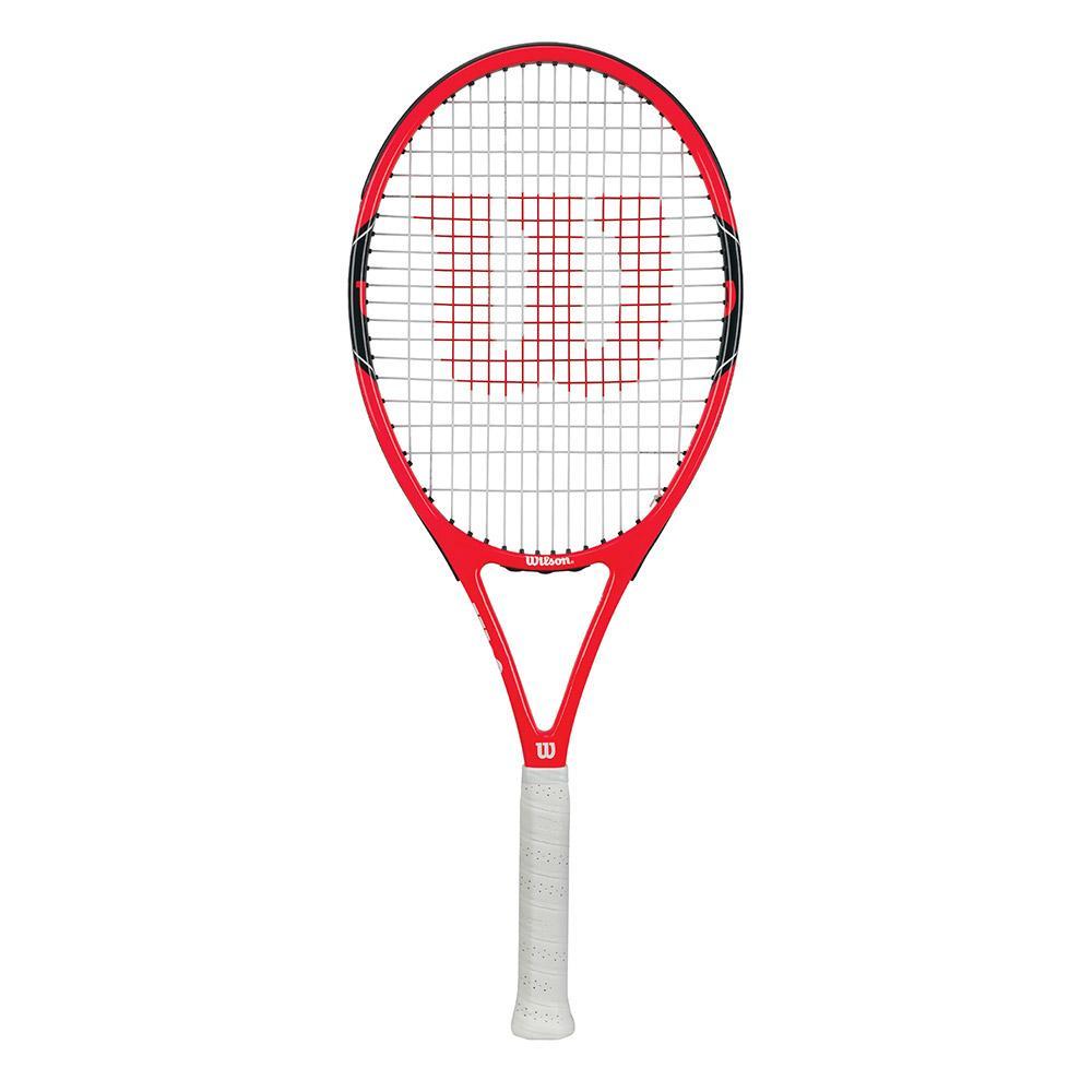 a2d01ecd2 Wilson Federer 100 Vermelho comprar e ofertas na Smashinn Raquetes ...