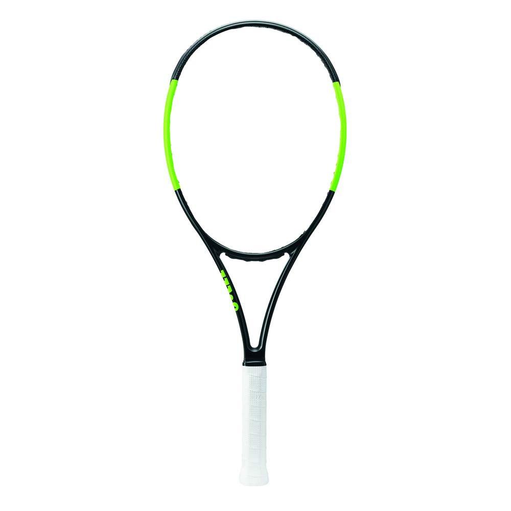 Raquettes de tennis Wilson Blade 101l 1 Black Velvet / Electric Lime
