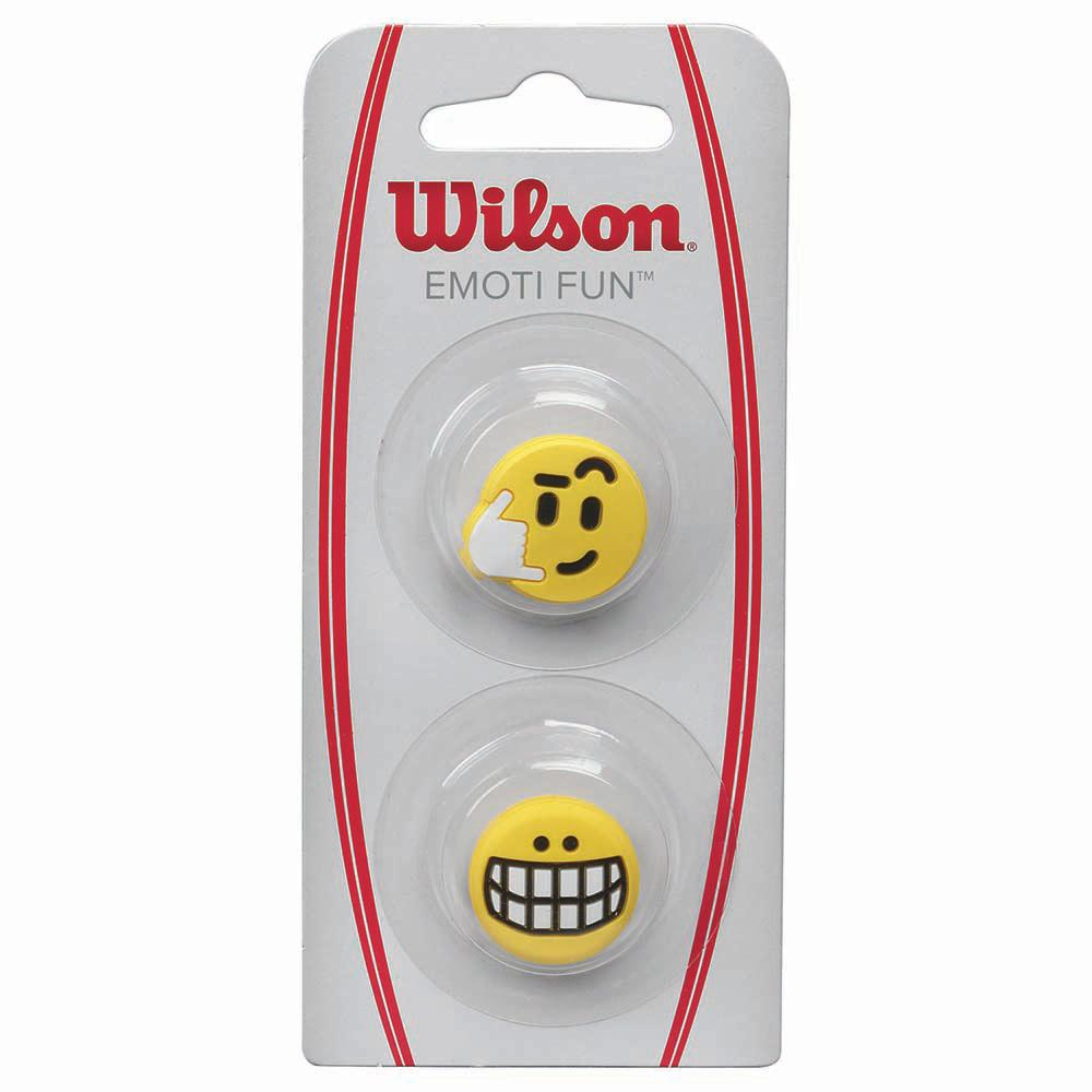 Accessoires Wilson Emoti Fun Big Smile Call Me 2 Units One Size Yellow