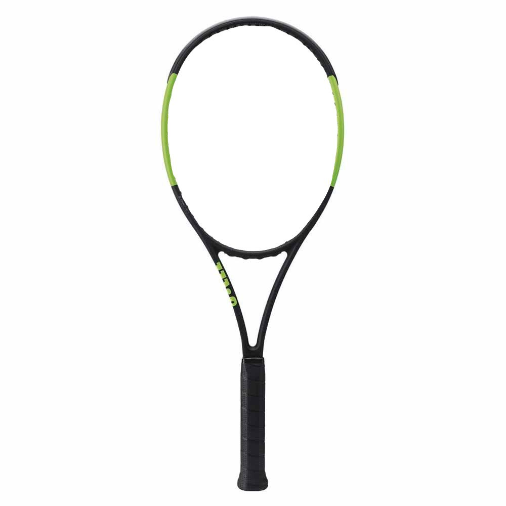 Wilson Blade 98s Countervail Sans Cordage 2 Black Velvet / Electric Lime