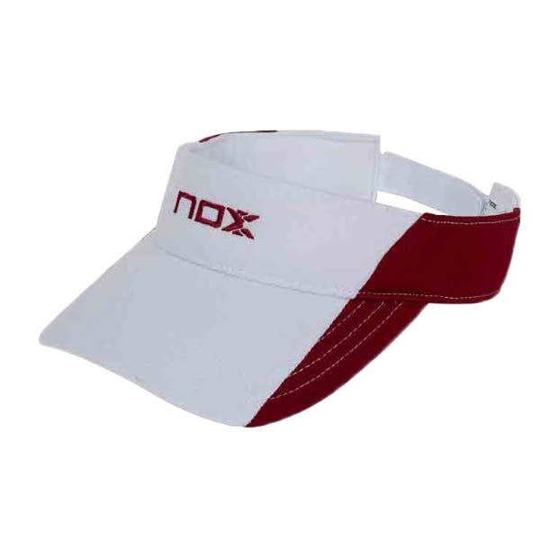 Couvre-chef Nox Sainz One Size White / Red