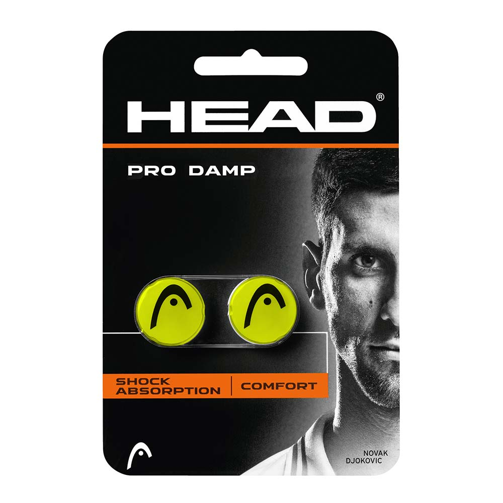 Accessoires Head Pro Dampener 2 Units One Size Yellow / Black