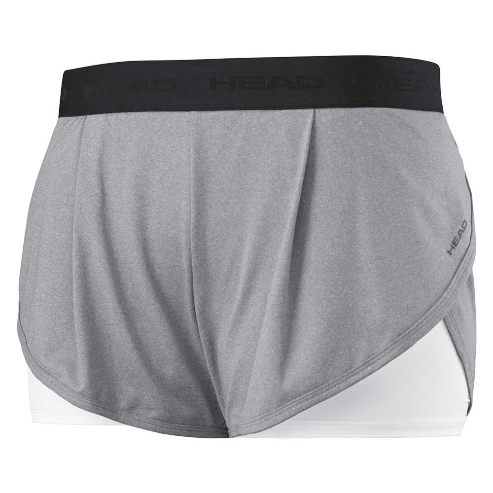 Pantalons Head-racket Vision Short Pants M Grey Melange