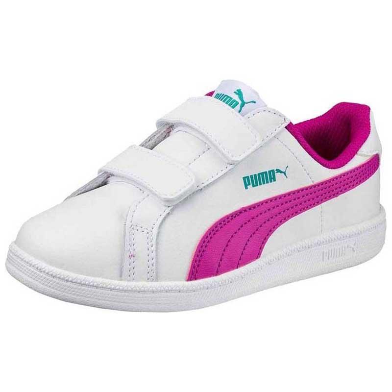 d5cc6383905 Puma Smash Fun L V Ps White buy and offers on Smashinn