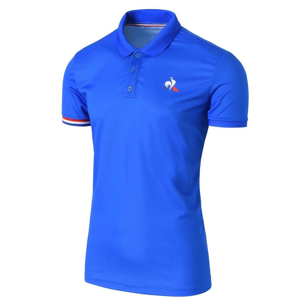 bd29a26334a Le coq sportif Tennis S/S N 1 Sininen, Smashinn T-paidat