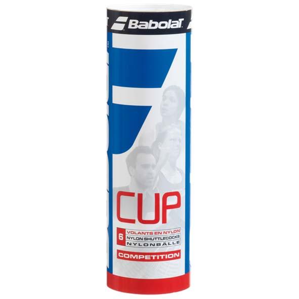Volants Babolat Cup 77 6 Units Yellow