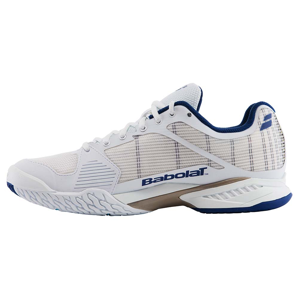 Babolat Jet Team All Court Wimbledon Tennis Shoes White