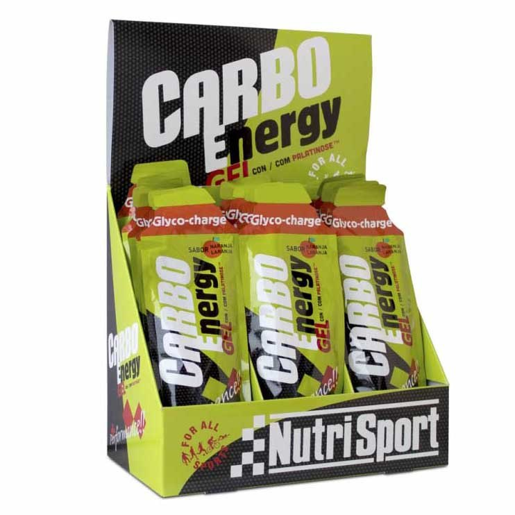 Nutrisport Carbo 18 Units Orange