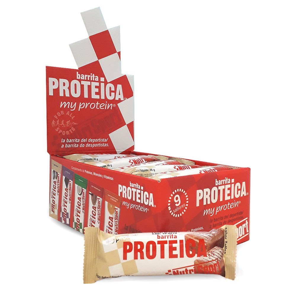 Nutrisport Protein Bar 24 Units