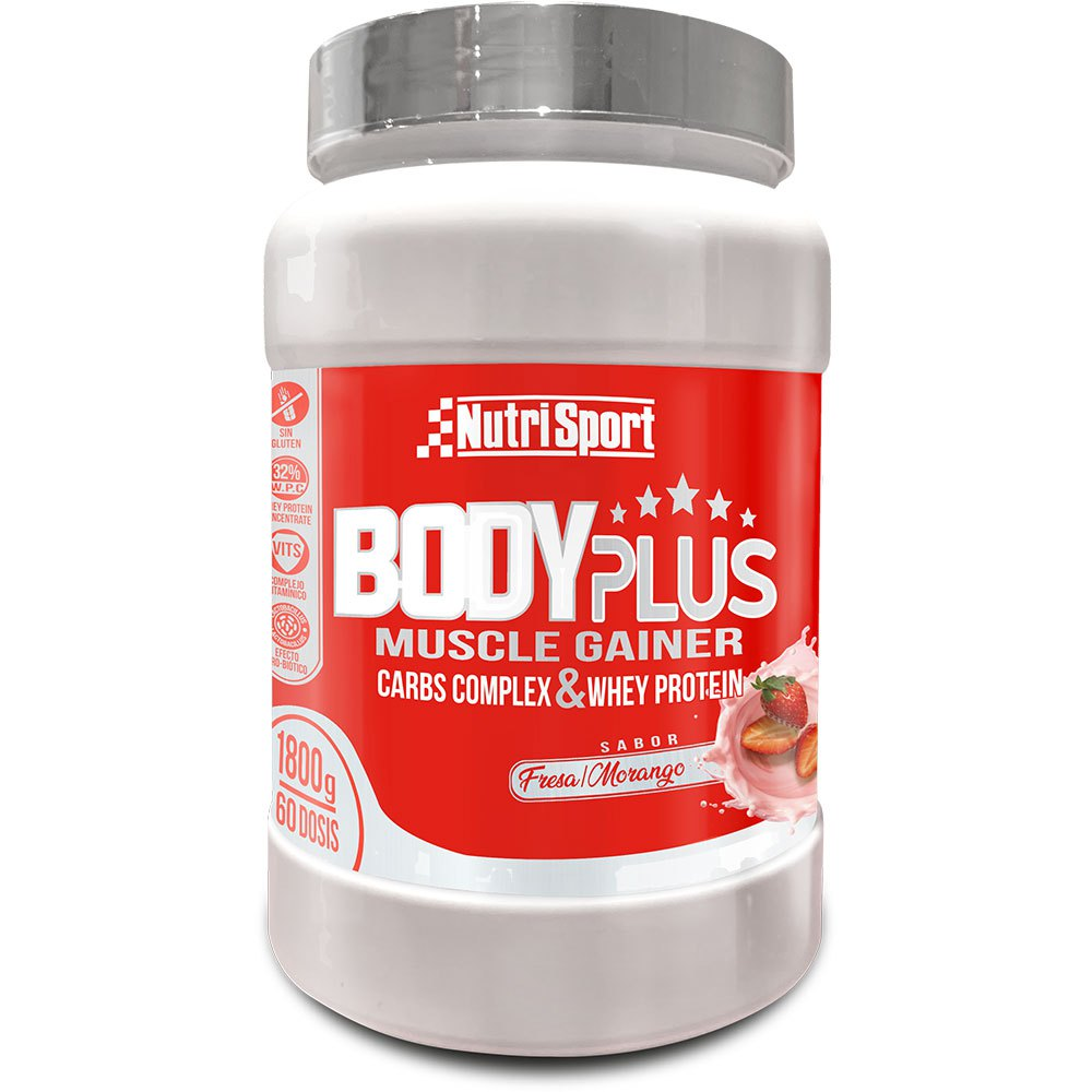 Nutrisport Bodyplus 1.8Kg Strawberry