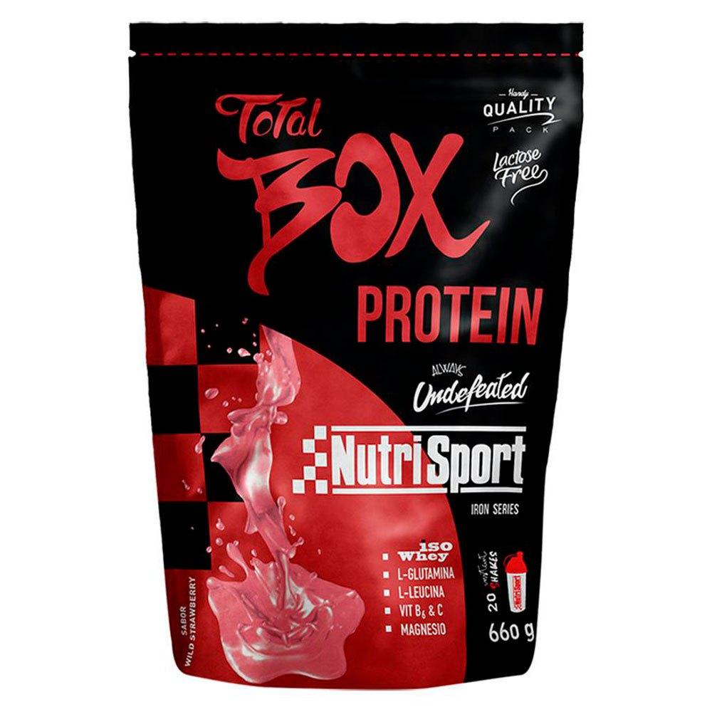 Nutrisport Total Box Protein Strawberry 660gr
