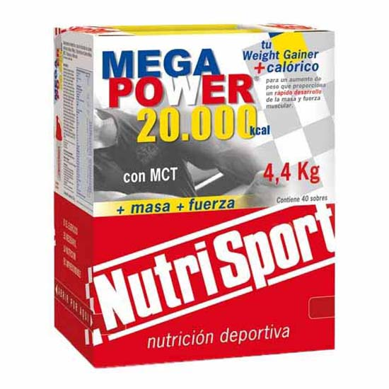 Nutrisport Megapower 4.4Kg Strawberry