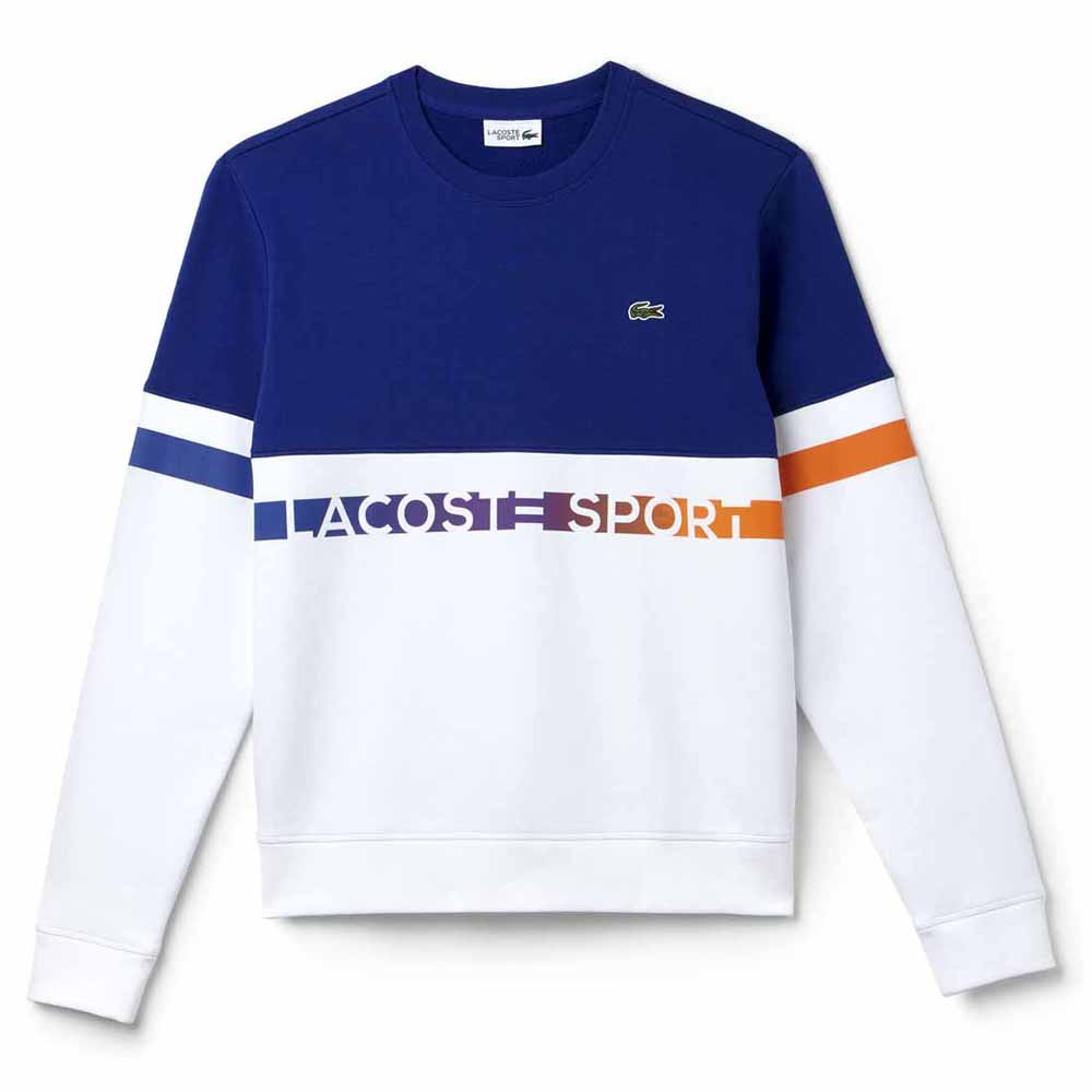 Lacoste Sport Lettering Colorblock Fleece Multicolor, Smashinn c24f1234f31