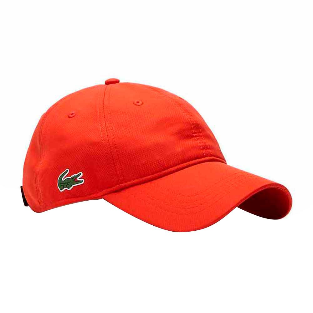 Lacoste Sport Taffeta Cap Red buy and offers on Smashinn 20c5d57fa00f