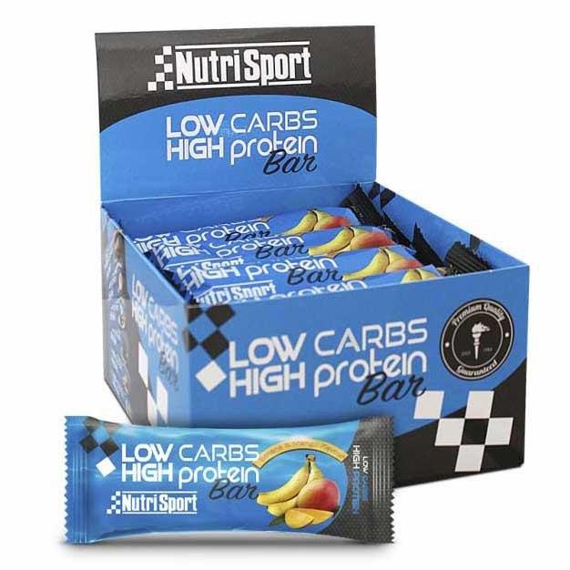 Nutrisport Low Carbs High Protein Bar Banana And Mango 16 Units