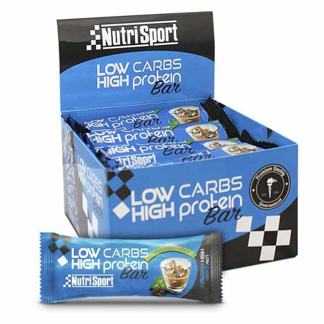Nutrisport Low Carb High Protein 16 Units Irish Cream