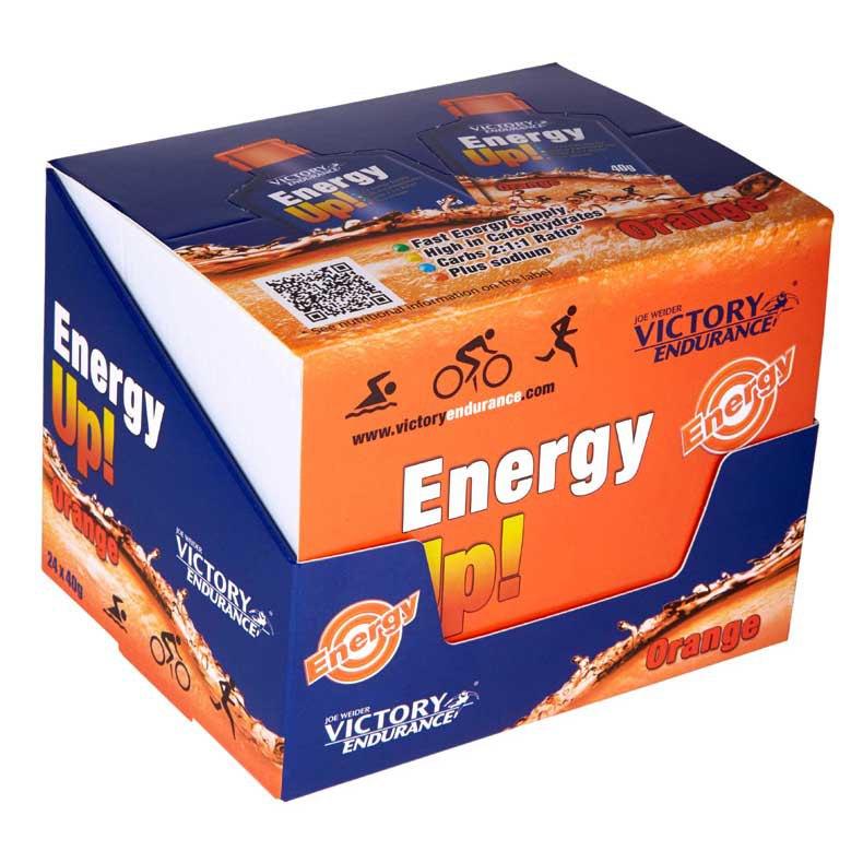 Weider Victory Endurancegrel Energy Up 40gr X 24 Orange