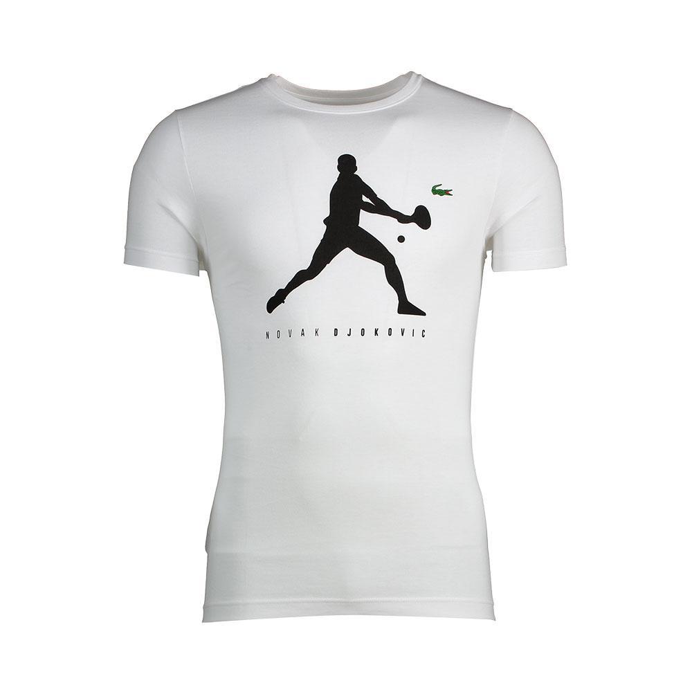 Lacoste Novak Djokovic Tee White Buy And Offers On Smashinn