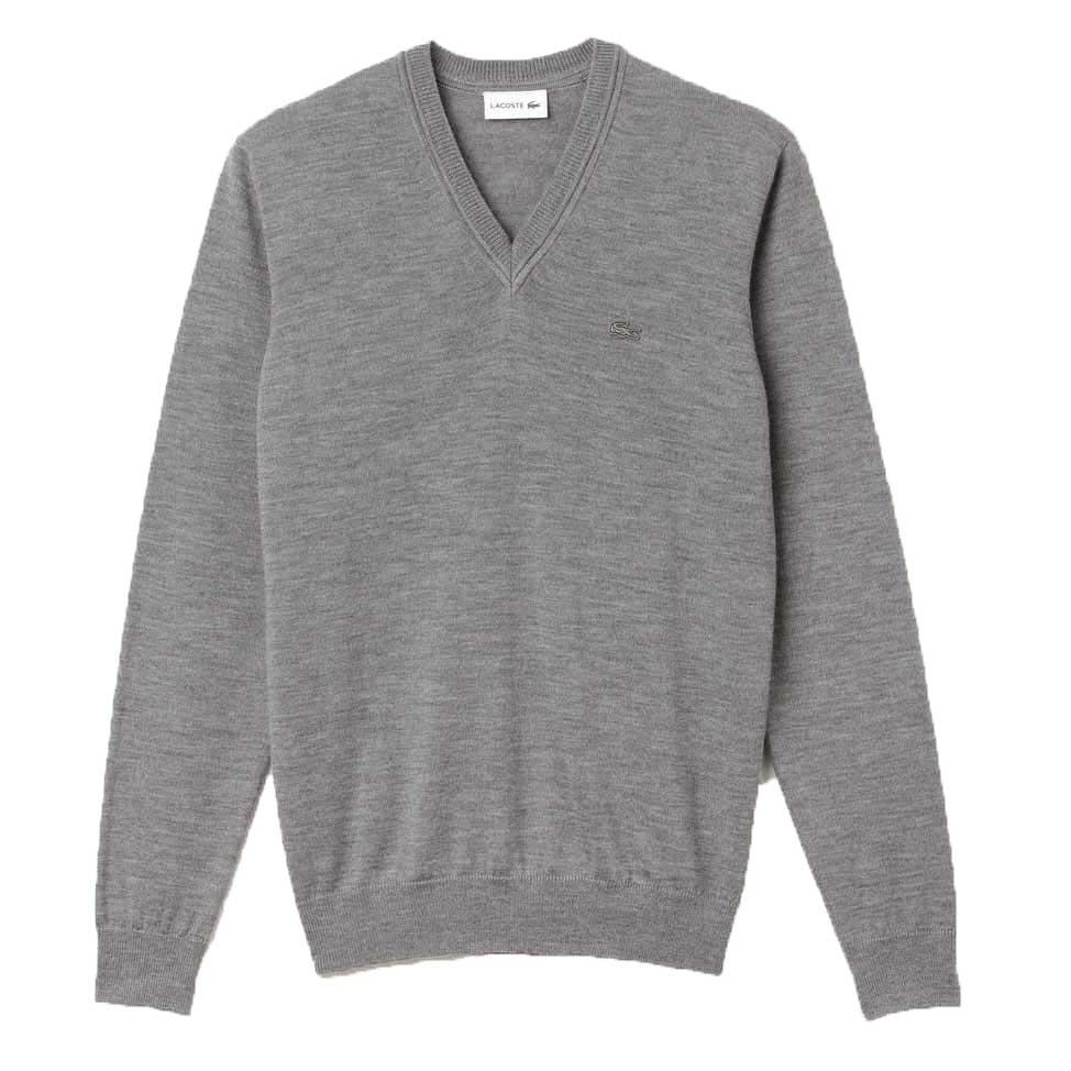 Lacoste AH2987NE8 Sweater Cinzento comprar e ofertas na Smashinn ... a837a54268