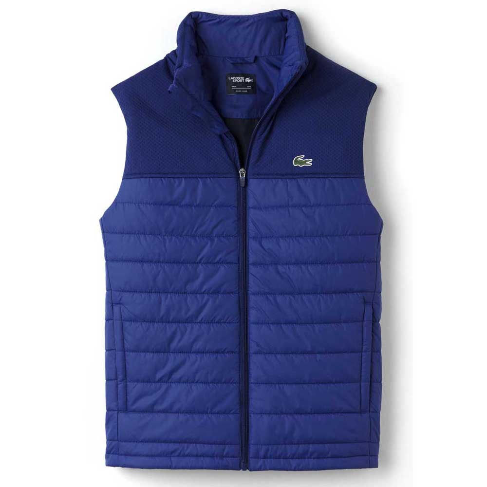 e13aa5839 Lacoste Blouson BH8128 Blue buy and offers on Smashinn