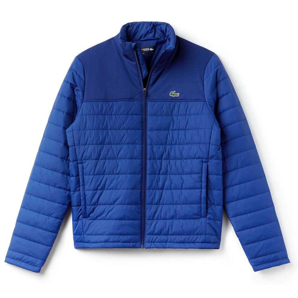 8de0f9ede Lacoste Blouson BH8143 Blue buy and offers on Smashinn