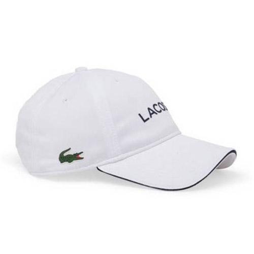 Lacoste Logo Sport Polyester Cap White Buy And Offers On Smashinn