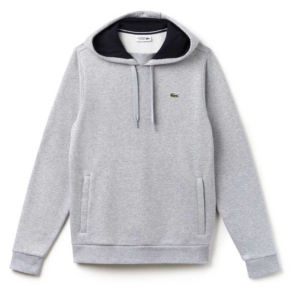 a10574036 Lacoste Sweatshirt Grey buy and offers on Smashinn