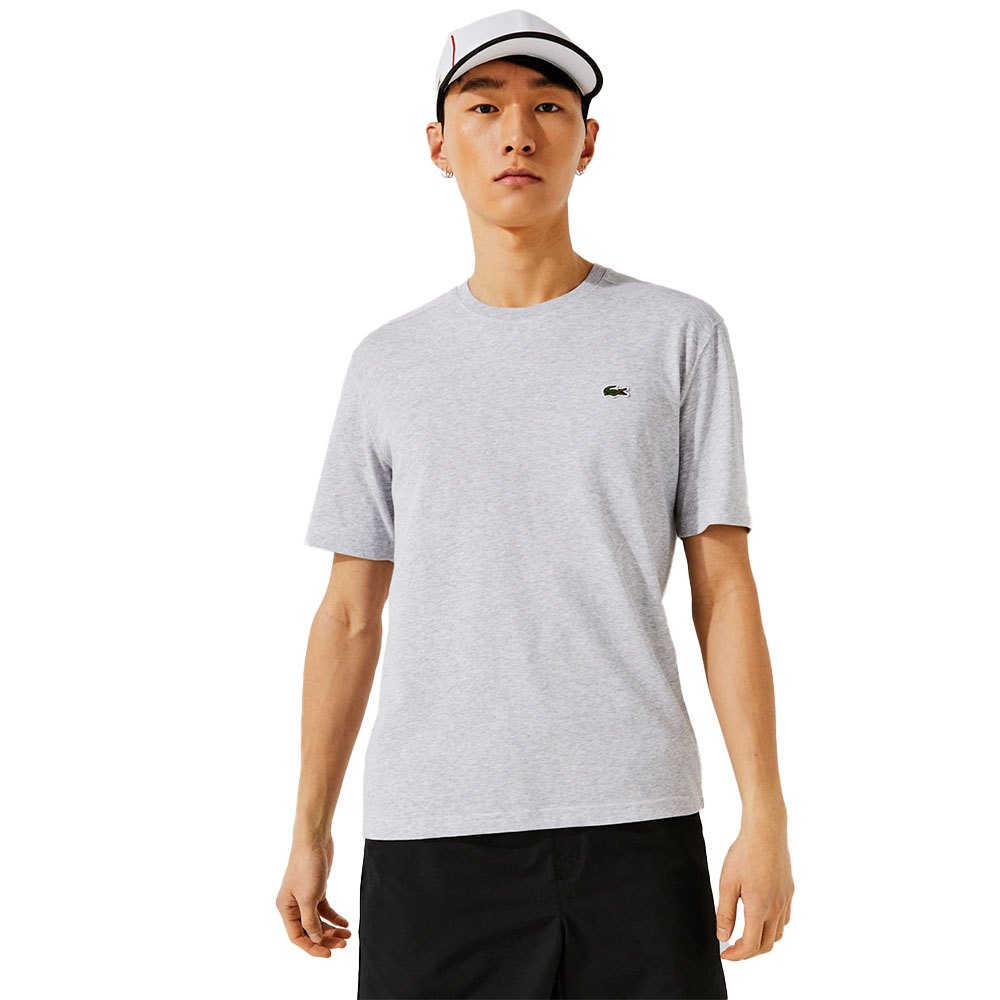 12386b2d Lacoste T Shirt Grey buy and offers on Smashinn