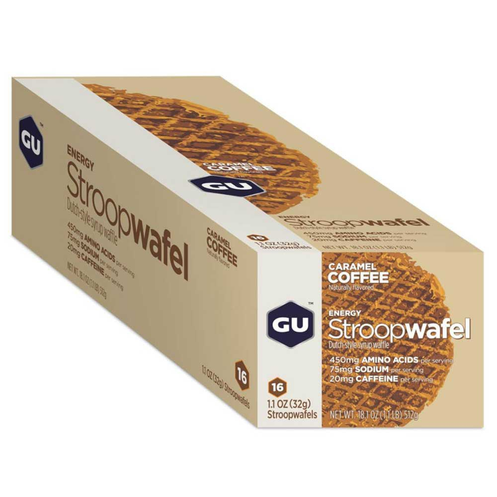 Gu Stroopwafel Caramel Coffee Box 16 Units