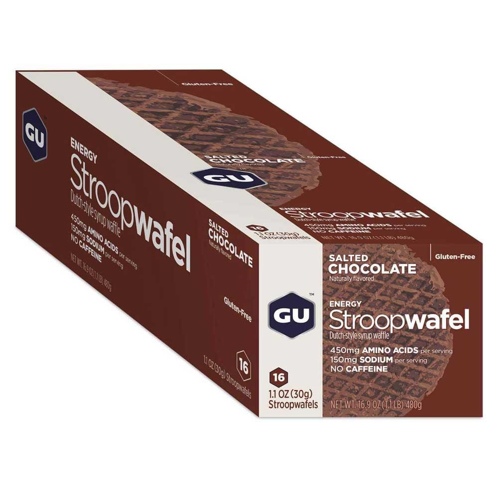 Gu Stroopwafelgrluten Free Salted Chocolate Box 16 Units