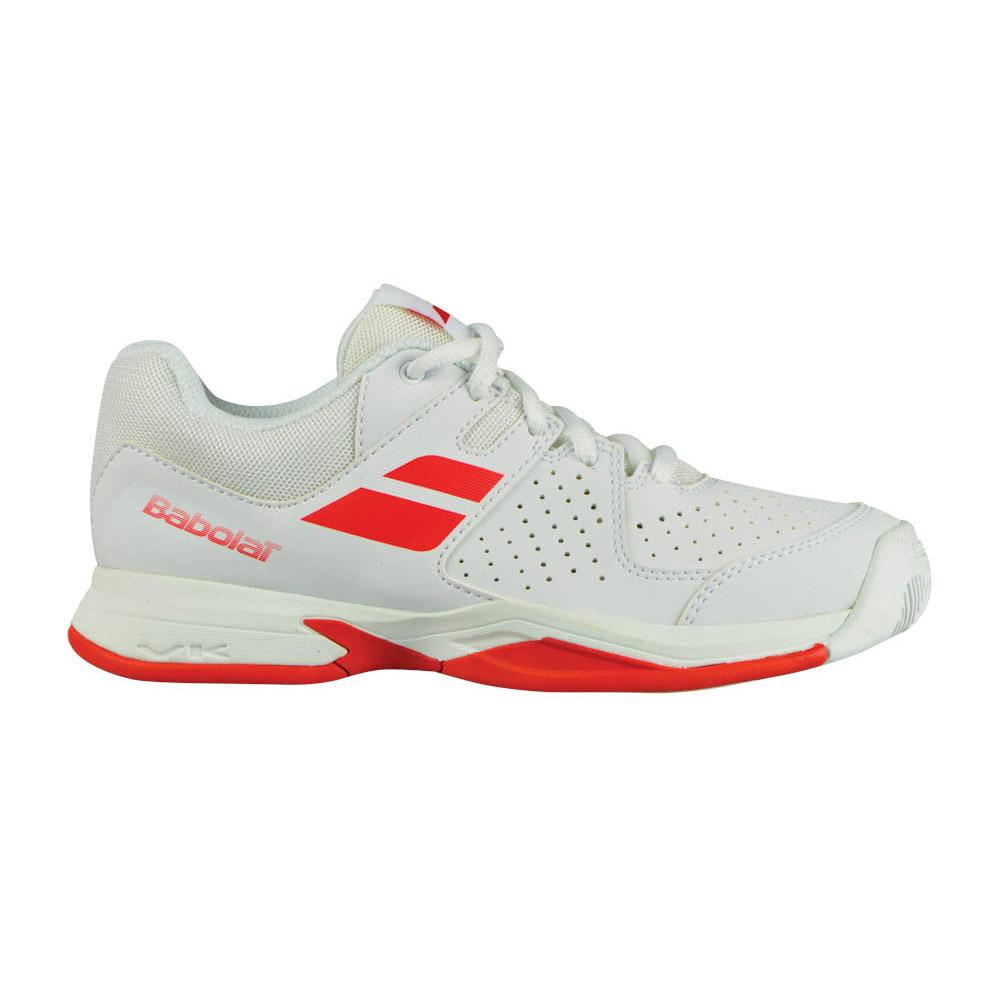 Babolat Propulse AC - Zapatillas de Tenis para Niño, Color Naranja, Talla 36