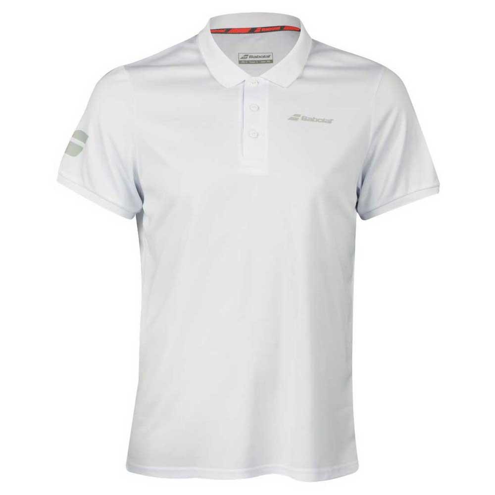 Polos Babolat Core Club S White / White