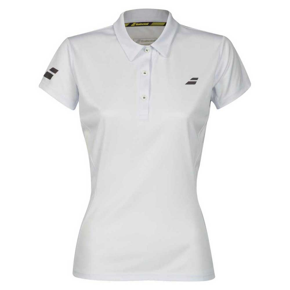 Polos Babolat Core Club XS White / White