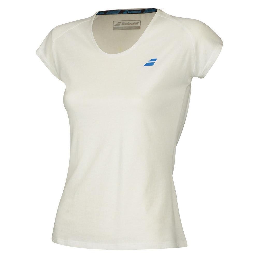 T-shirts Babolat Core XXL White / White