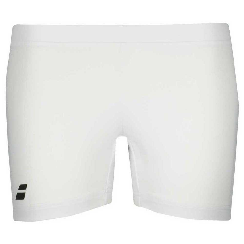 Pantalons Babolat Core Shorty M White / White
