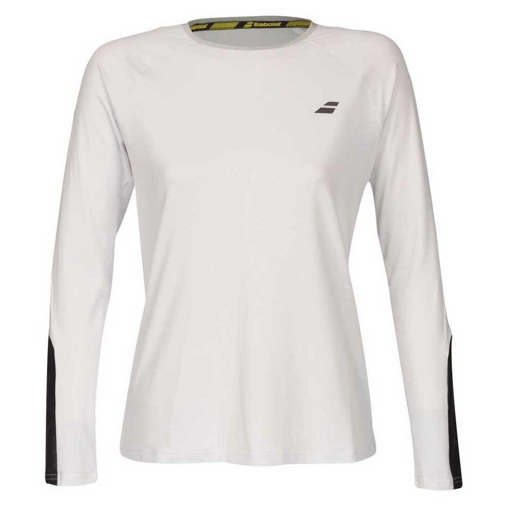 T-shirts Babolat Core XL White / Rabbit