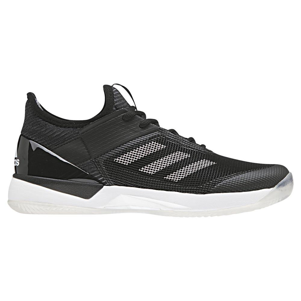 finest selection b00fe 0e494 adidas Adizero Ubersonic 3 Clay Black buy and offers on Smas