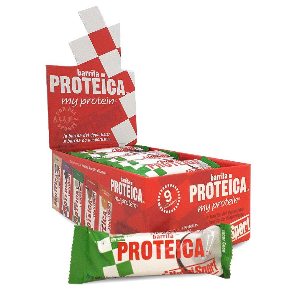 Nutrisport Low Carbs High Protein Coco Bar Box 16 Units