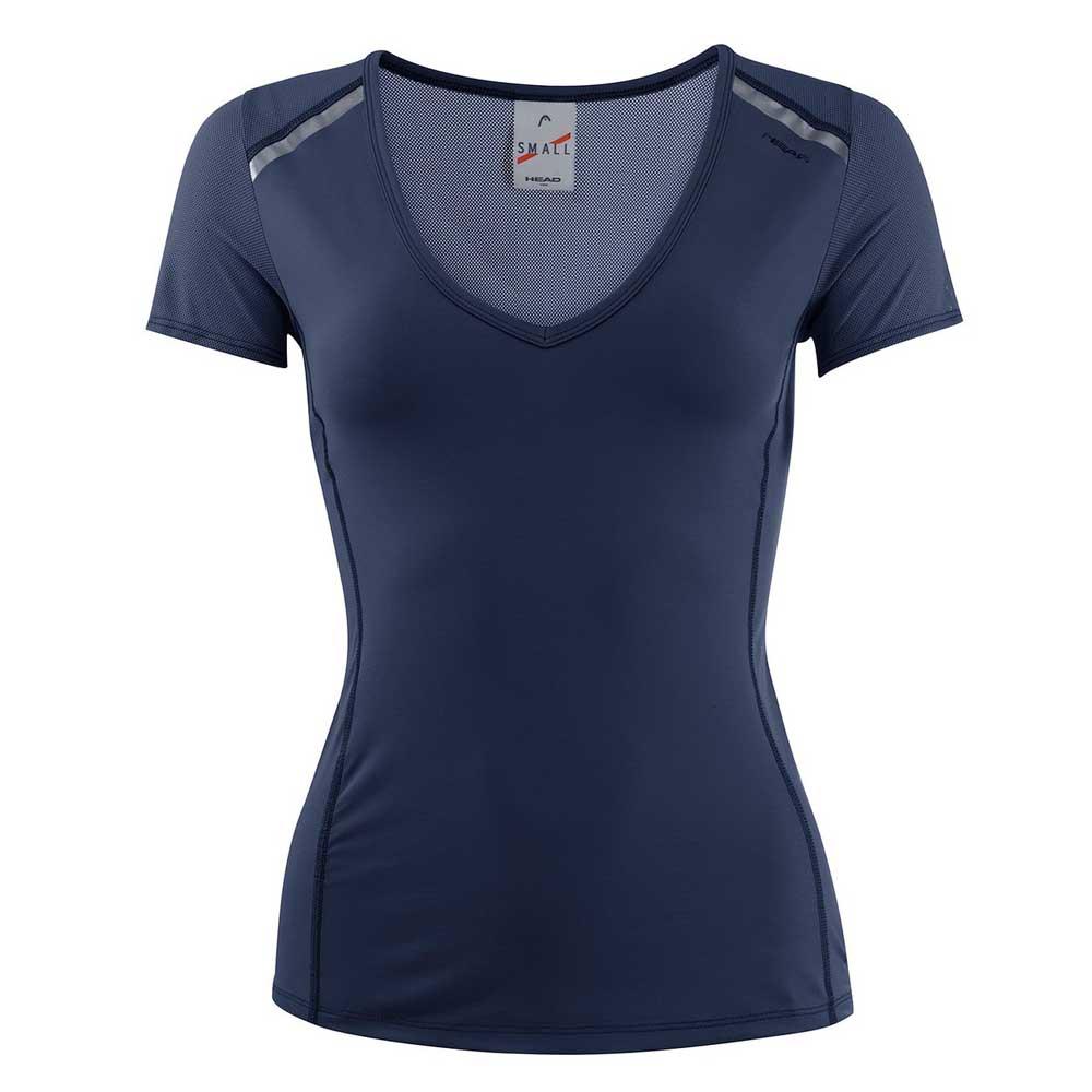 T-shirts Head-racket Performance L Navy