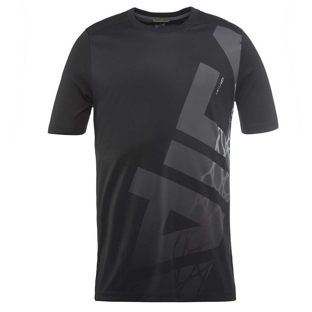 T-shirts Head-racket Vision Radical S/s 128 cm Black