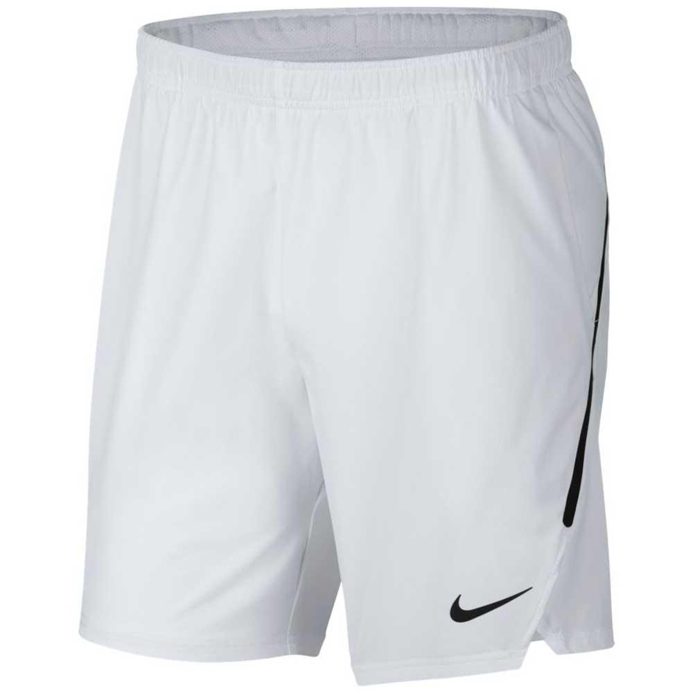 Pantalons Nike Court Flex Ace 9 XL White / Black / Black