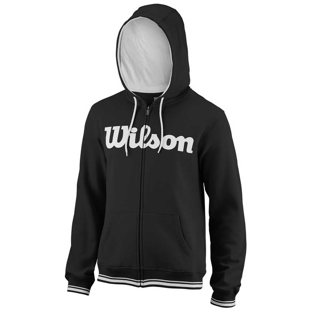 Sweatshirts Wilson Team Script XL Black / White