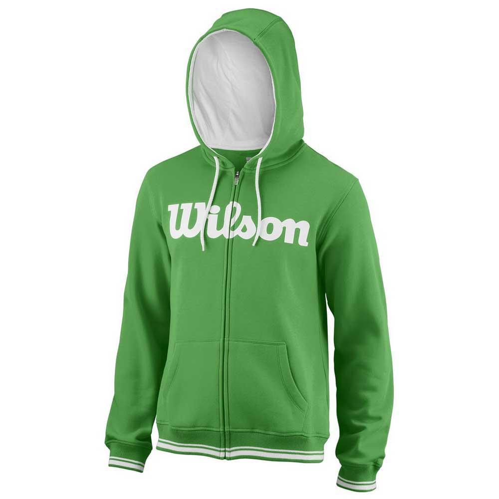 Sweatshirts Wilson Team Script Full Zip Hooded