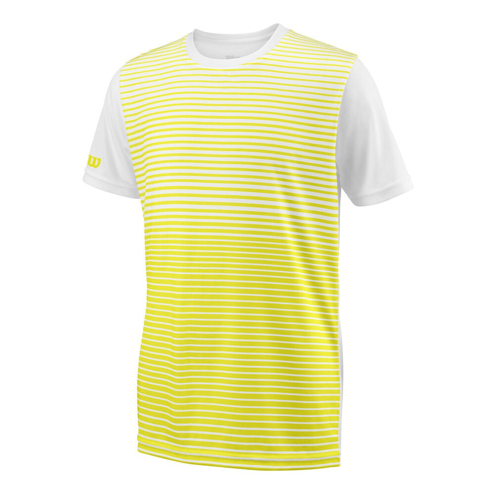 T-shirts Wilson Team Striped Crew S/s