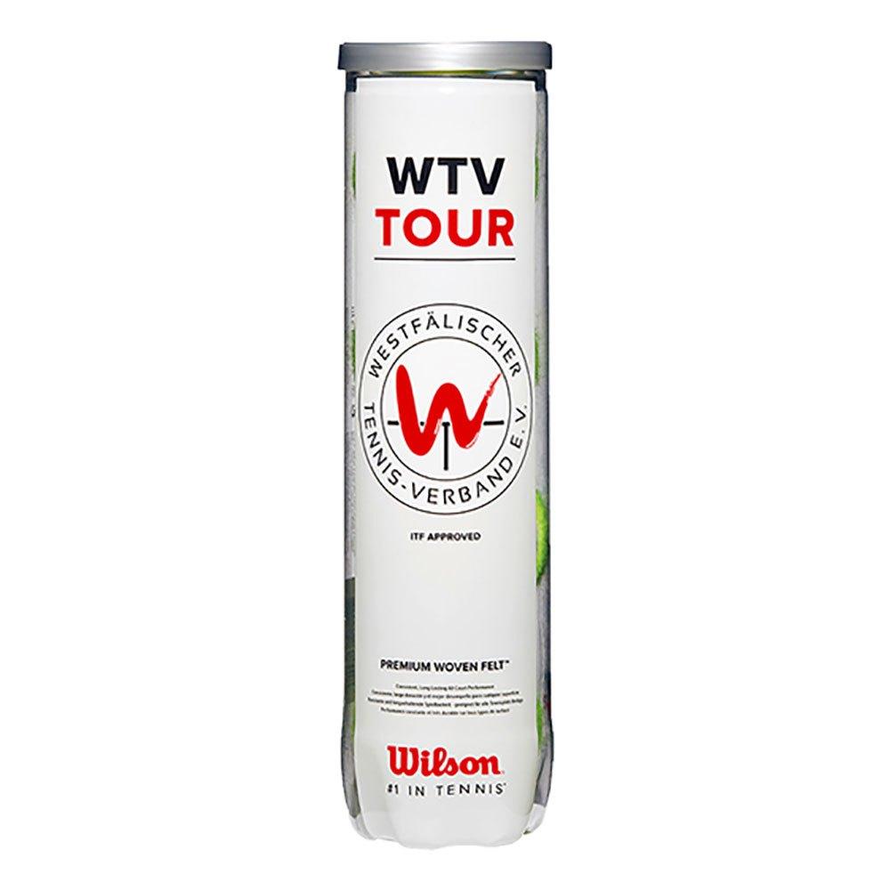 Balles tennis Wilson Wtv Tourall Court