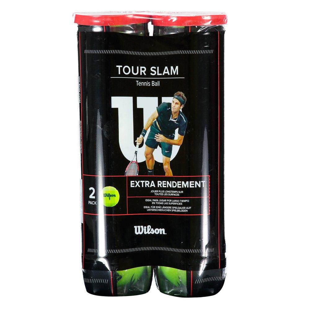 Balles tennis Wilson Tour Slam All Court Bipack
