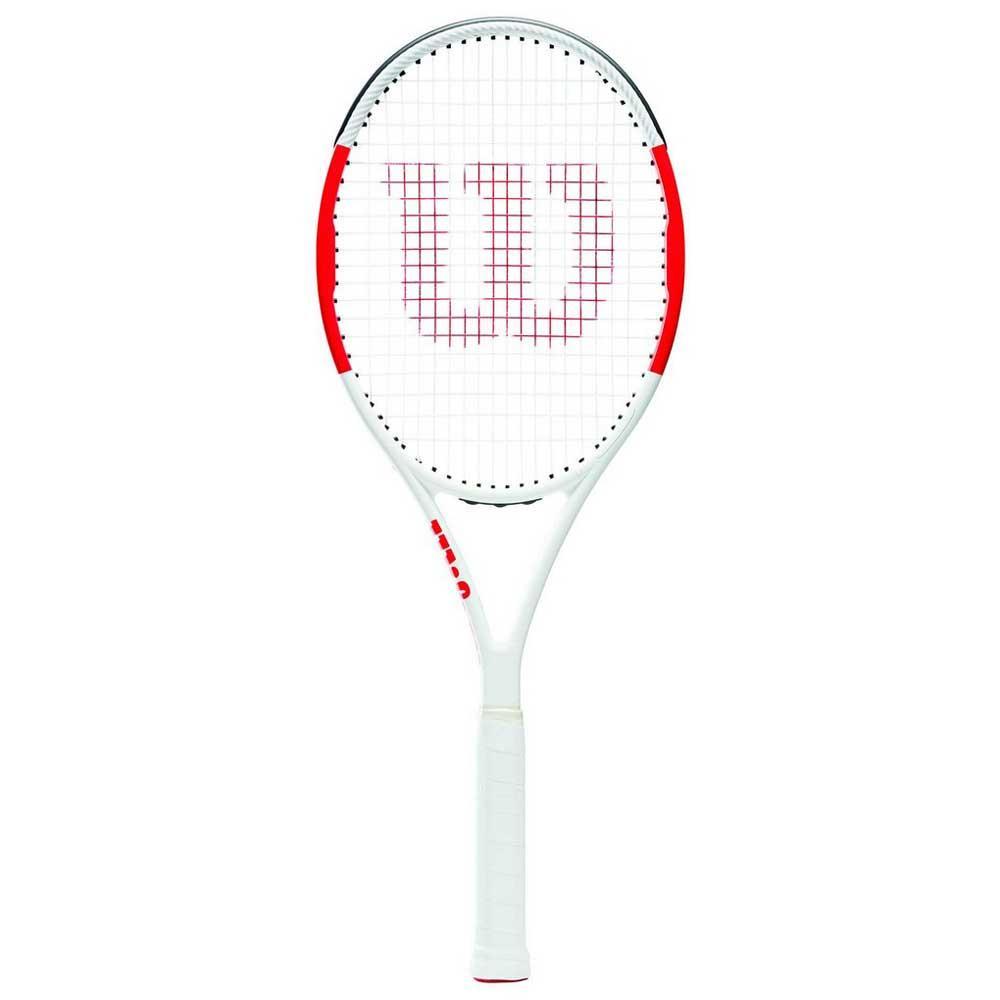 Raquettes de tennis Wilson Six.one Team 95 3 Red / Grey