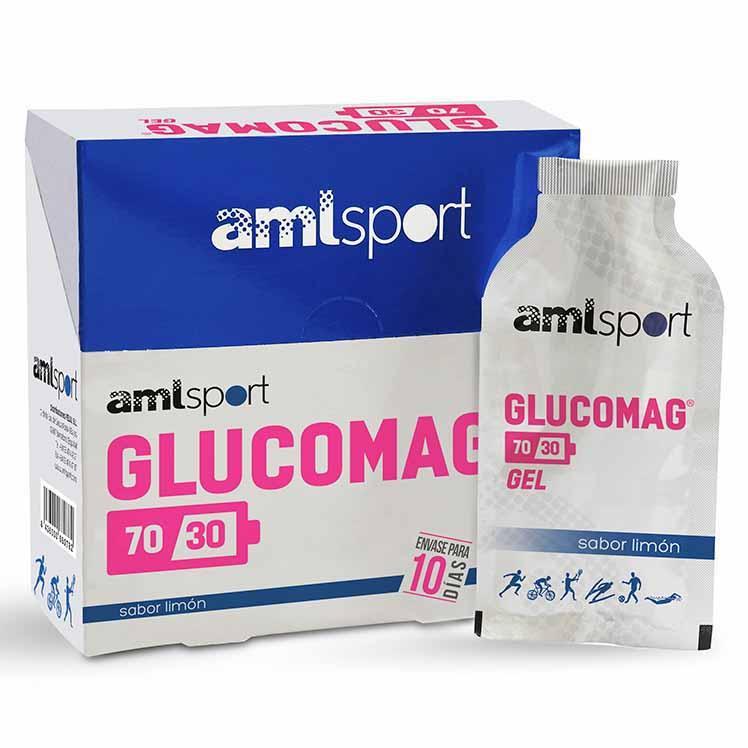 Amlsport Glucomag 70/30 Gel 10 Units 30ml